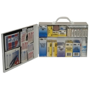 First Aid Kit 100 man, metal $112.5