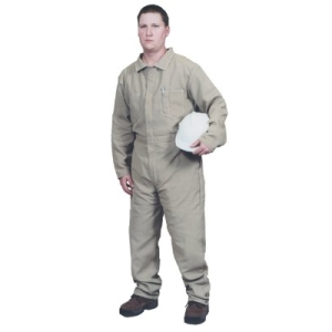 Khaki Coverall 100% Cotton $63.00