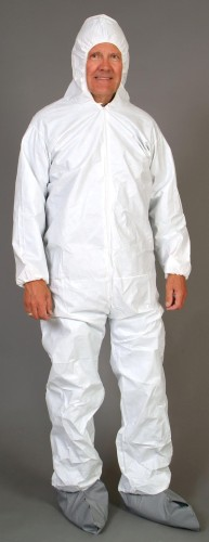Micromax Coverall with Collar and Zipper $64.95 (25ct.)