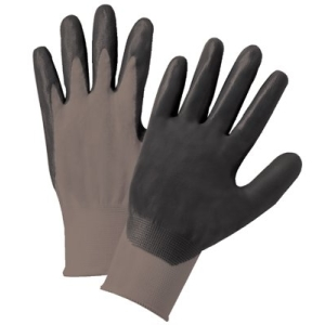 Nylon Knit Gray Foam Nitrile Palm Dip $27.50 (doz.)