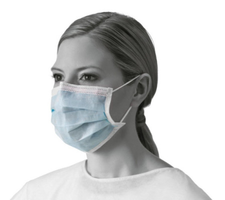 Procedure Face Mask Ear Loop Blue Box of 50 $4.44