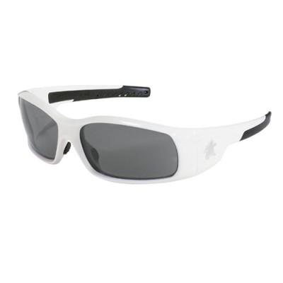 Swagger White Safety Glasses Gray Anti-Fog $7.03 (ea.)