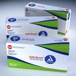 Dynarex Vinyl Exam Gloves Powdered Non Sterile $5.95 (per box)